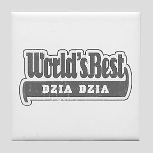 WB Grandpa [Polish] Tile Coaster
